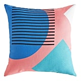 Modern Floating Shapes Pillow