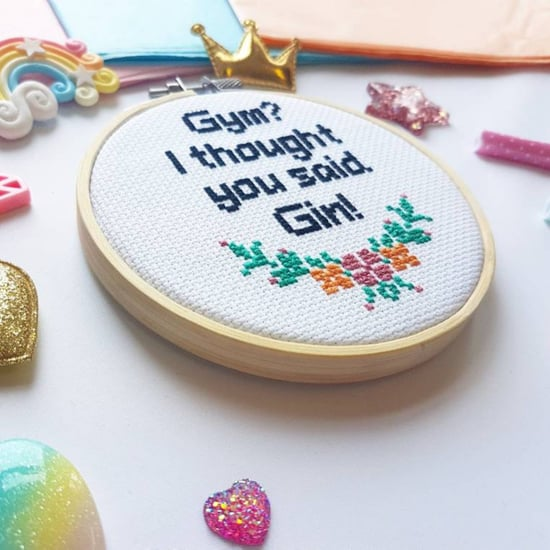 Fitness Cross-Stitch Patterns