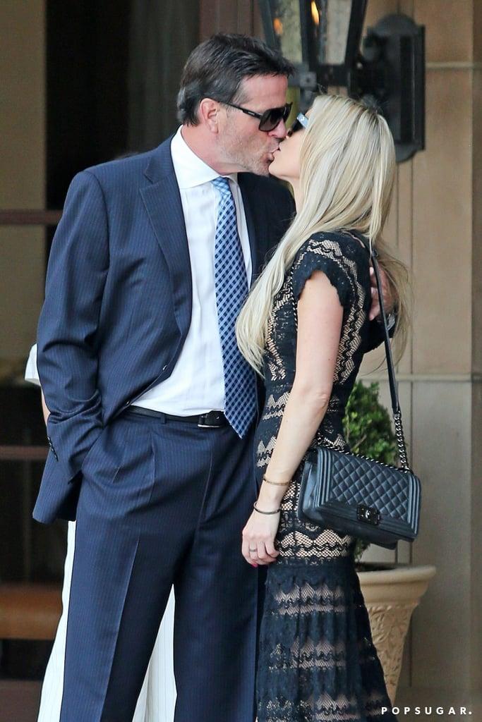 Christina El Moussa Kissing Boyfriend Pictures July 2017
