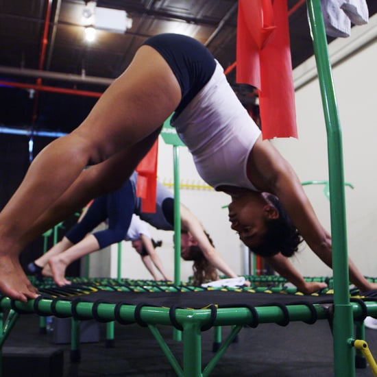 Trampoline Workout With Hannah Bronfman | Video