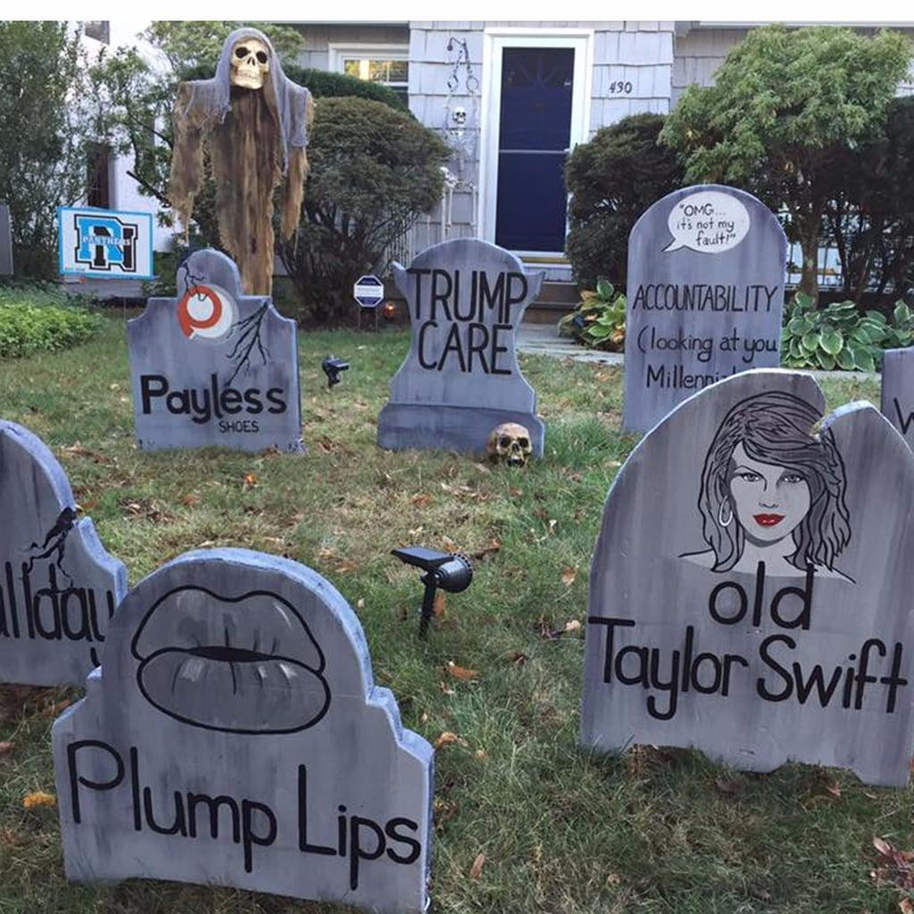 Dad 39 s funny halloween decorations popsugar moms for B m halloween decorations