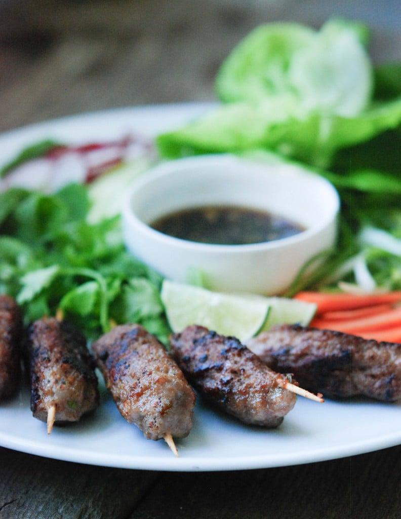 Vietnamese Pork Skewers