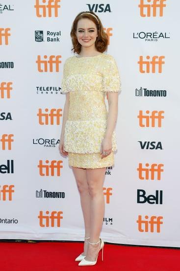 Emma Wearing a Chanel Minidress