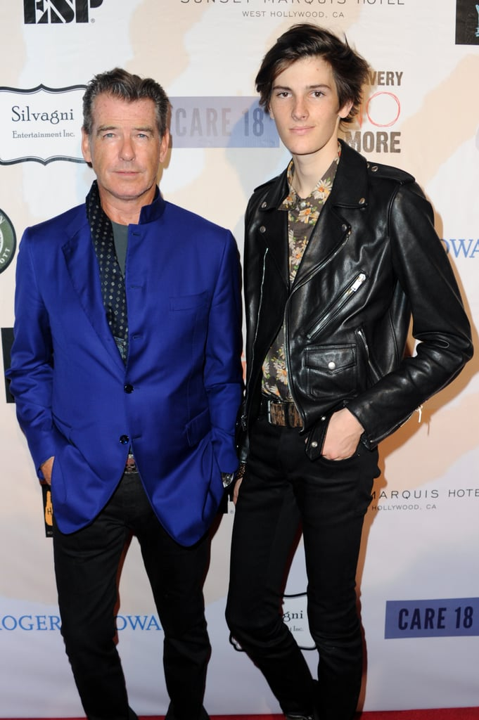 Golden Globes 2020: Joey King makes waves in a show ...  Pierce Brosnan Son And Noah Cyrus