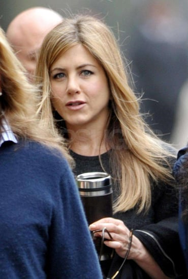 Photos of Jennifer Aniston Filming The Baster in NYC