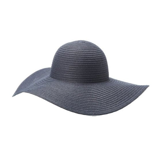 I'm convinced that gray matches everything. I'm also convinced burnt, red skin does not. Columbia Women's Sun Ridge Straw Hat ($38) not only looks chic, but offers  an ultraviolet protection factor of 30.  — JR