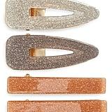 Tasha 4-Pack Glitter Hair Clips