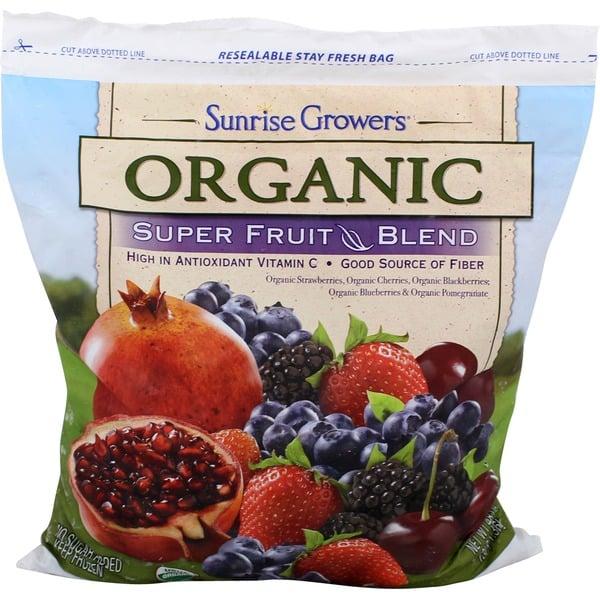 Frozsun Foods Organic Super Fruit Blend ($11)
