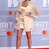 Yasmin Evans at the 2020 BRIT Awards Red Carpet