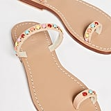 Mystique Stones Toe Ring Slides