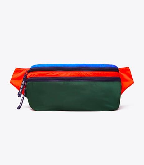 Convertible Color-Block Belt Bag