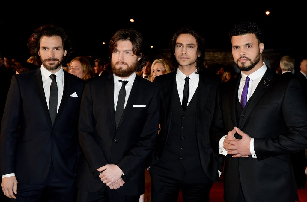 Photos of the Musketeers Cast Off Screen