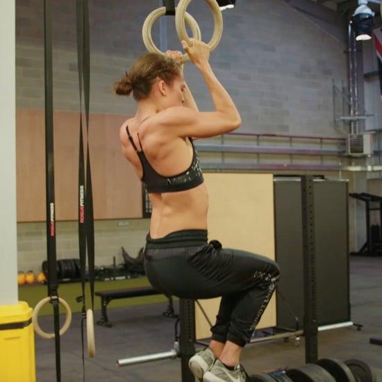 تمارين أليسيا فيكاندير الرياضيّة لفيلم تومب رايدر