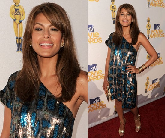 Eva Mendes at 2010 MTV Movie Awards 2010-06-06 18:41:02