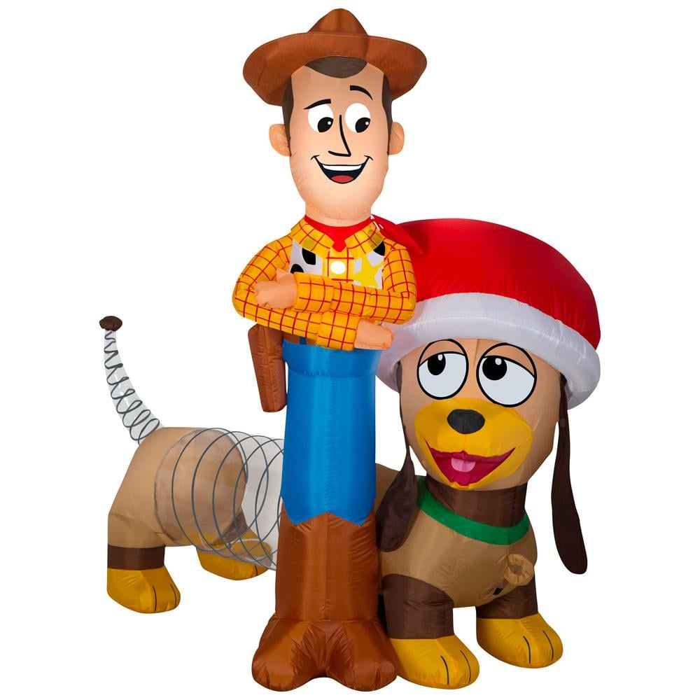 Inflatable Airblown Woody and Slinky