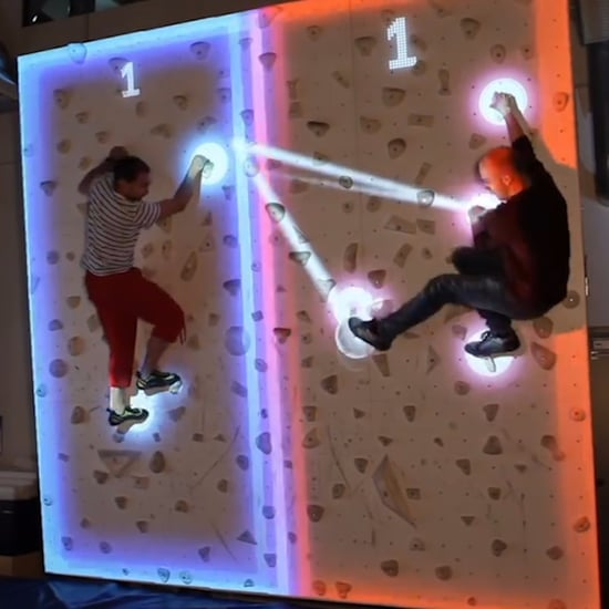 Augmented Rock Climbing Wall (Video)