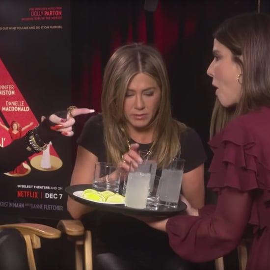 Sandra Bullock in Dolly Parton & Jennifer Aniston Interview