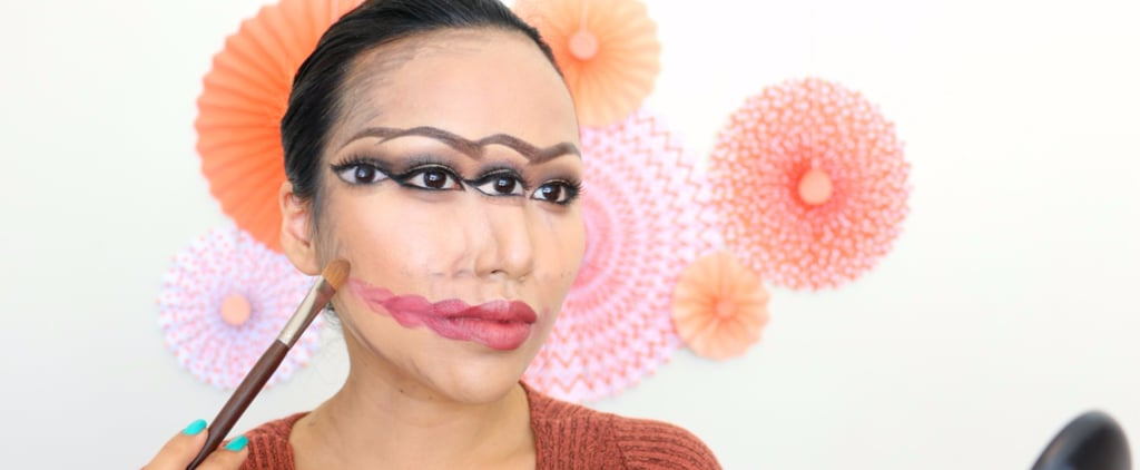 This Trippy Makeup Tutorial Is So Disorienting, You'll Have to Sit Down