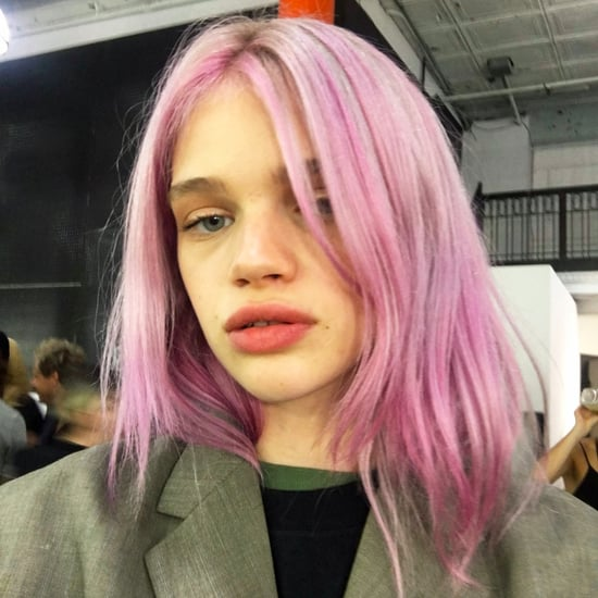 Rose Quartz Hair Colour Trend | Alexander Wang Pink Hair