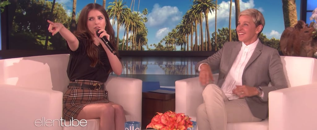 Anna Kendrick Raps on The Ellen Show September 2018