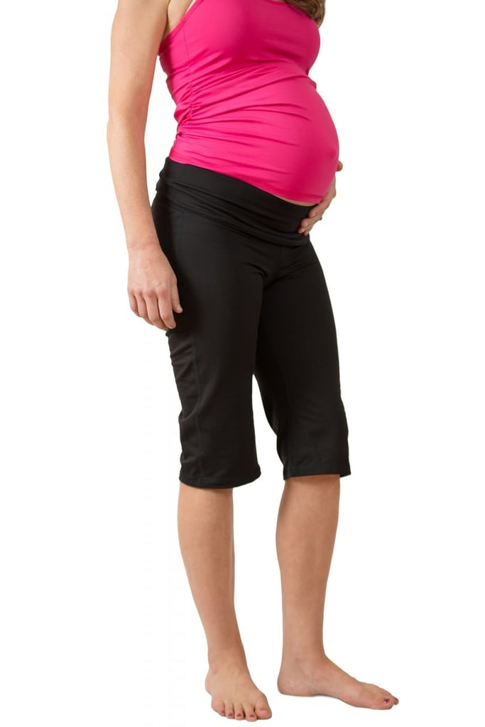 The Fitness Capri Pants ($72) feature the ActivEmbrace technology in the waistband to offload pressure on the pelvis and support the lower back.