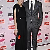 Gorgeous couple alert: Johannes Huebl escorted girlfriend Olivia Palermo to the Couple of the Year Gala in Hamburg, Germany.