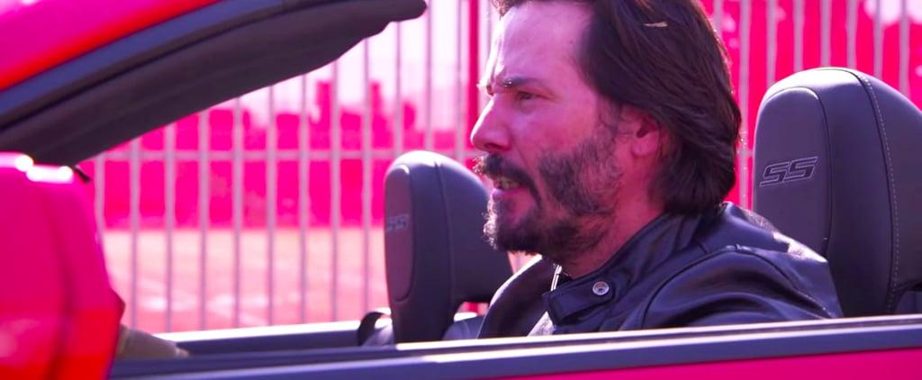 Jimmy Kimmel's Speed Parody With Keanu Reeves