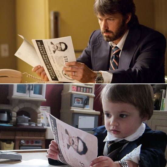 Pictures of Baby Impersonating Oscar Best Picture Nominees