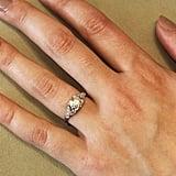 1.10 Carat GIA: H-SI1 Art Deco Diamond Engagement Ring ($9,450)