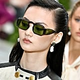 Sunglasses on the Tory Burch Runway at New York Fashion Week