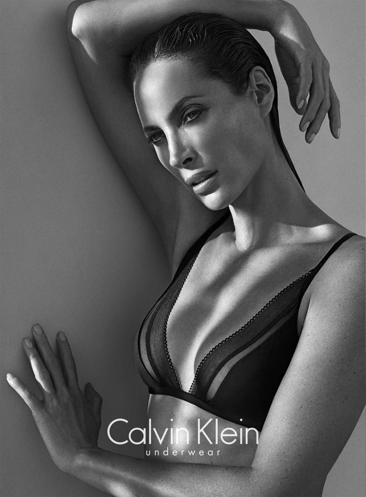 Christy Turlington photographed by Mario Sorrenti. Photo courtesy of Calvin Klein