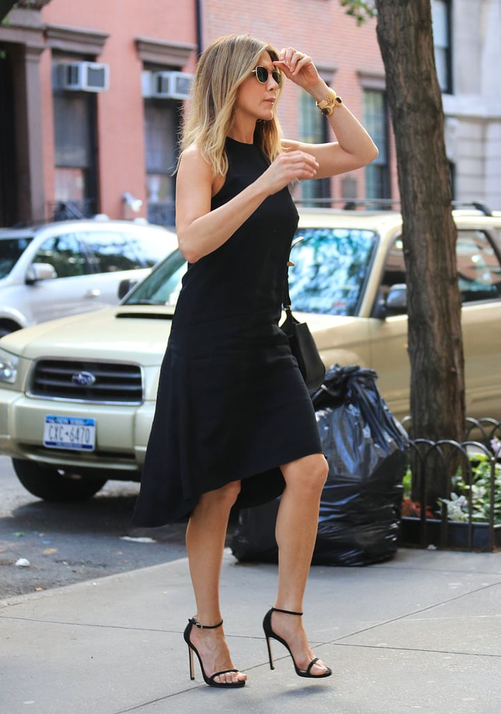 Jennifer Aniston Summer Shoes Popsugar Fashion