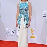 Actress Nicole Kidman looked beautiful at the Emmys.