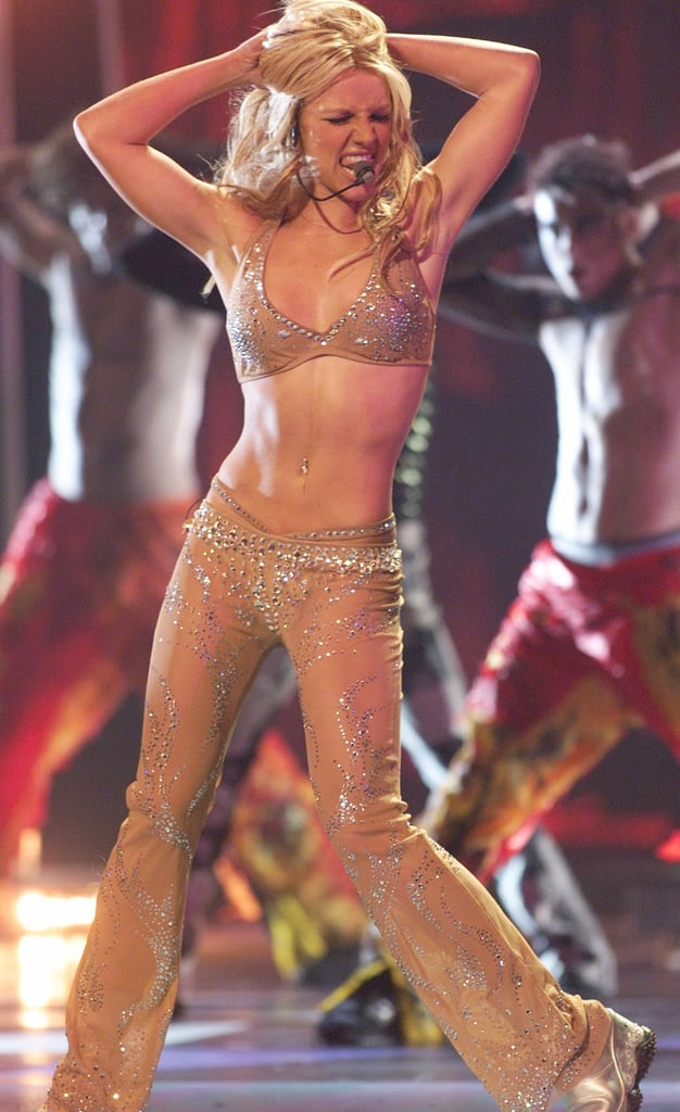 Oops I Did It Again At The Vmas Britney Iconic Britney Spears Costume Ideas Popsugar Celebrity Australia Photo 9