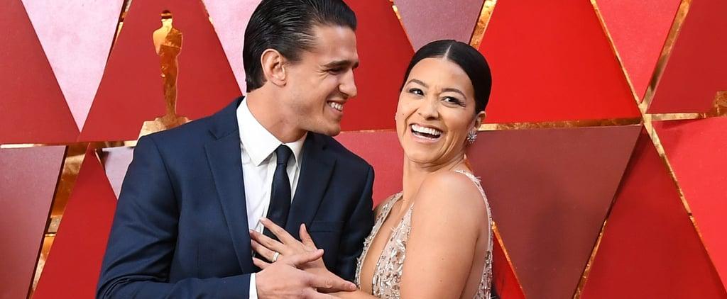 Gina Rodriguez Wedding Dress