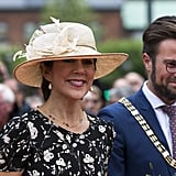 Princess Mary Wearing Hat and Ralph Lauren Dress