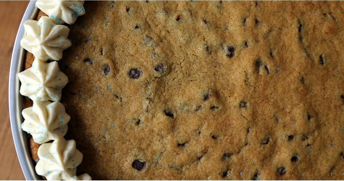 Chocolate Chip Cookie Cake Recipe Popsugar Food