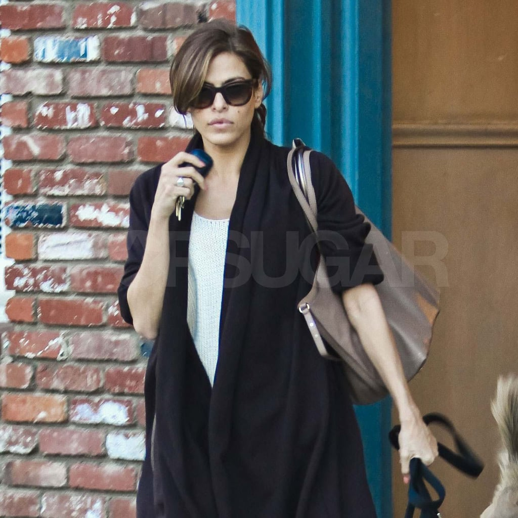 Eva Mendes out in LA.