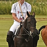 By July, Prince William Was Back in His Element at a Polo Match