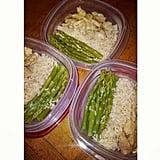 Chicken + Asparagus + Rice