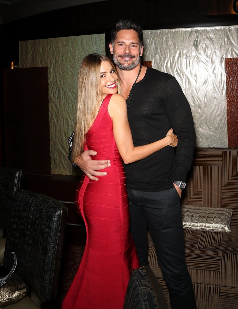 Sofia Vergara and Joe Manganiello spent their New Year's Eve in Las Vegas, where they caught a performance of Britney Spears's Piece of Me show at Planet Hollywood. They were joined by Arnold Schwarzenegger and his girlfriend, Heather Milligan, in the audience. Sofia and Joe, who got engaged on Christmas Day, recently returned from a Hawaiian getaway to celebrate Joe's 38th birthday. It was an exciting 2014 for the couple, and it looks like 2015 might have even more in store!