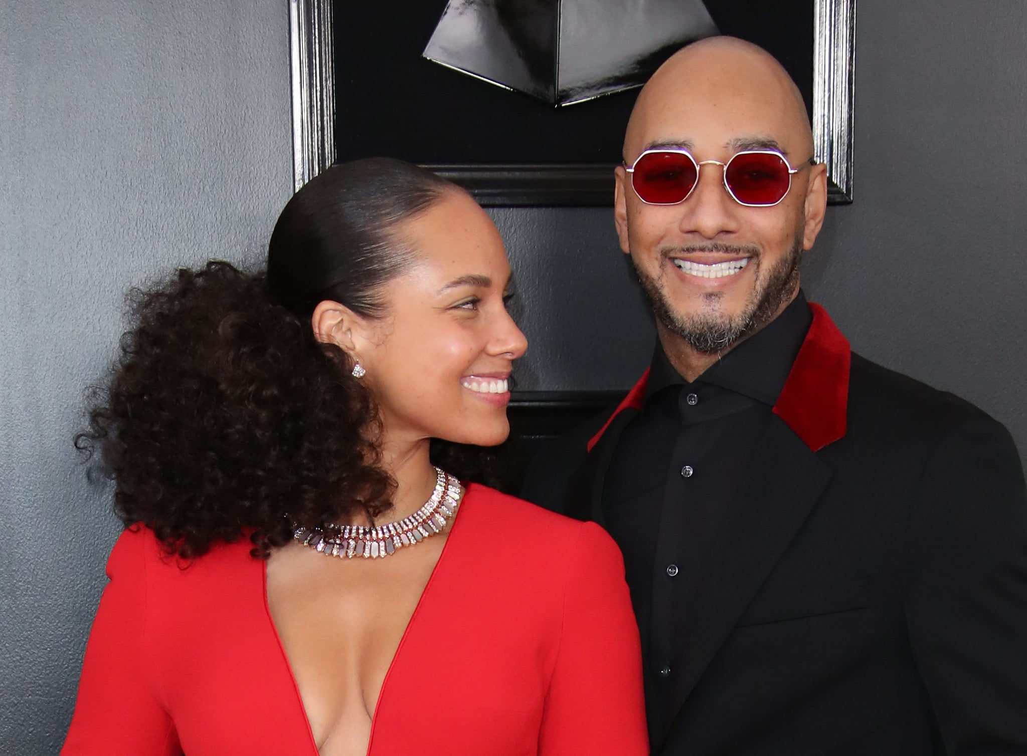 LOS ANGELES, CA - FEBRUARY 10: Alicia Keys and Swizz Beatz attend the 61st Annual GRAMMY Awards at Staples Center on February 10, 2019 in Los Angeles, California. (Photo by Dan MacMedan/Getty Images)