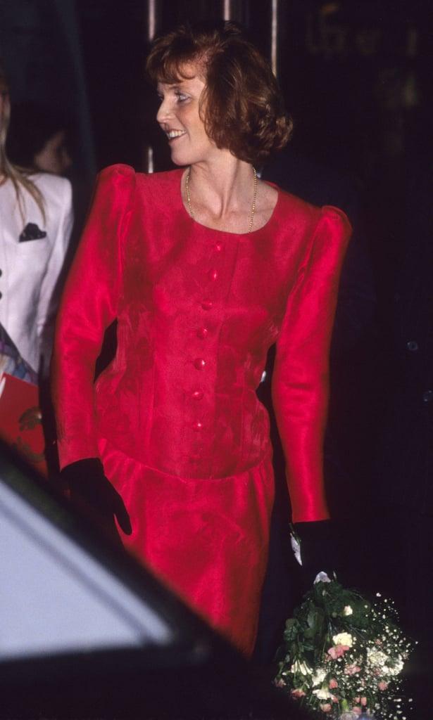 Sarah Ferguson, 1991