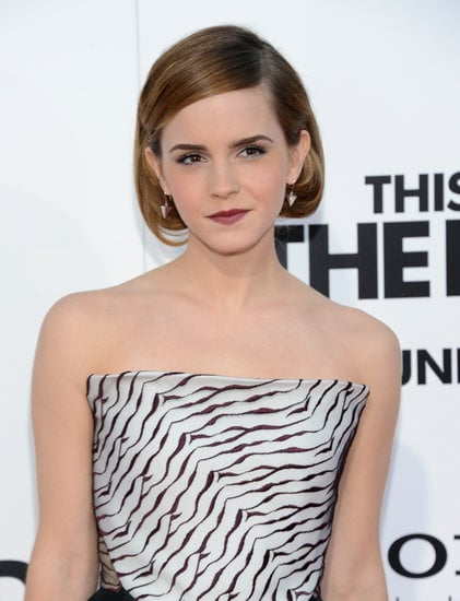 Emma Watson S Faux Bob At The La This Is The End Premiere