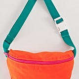 American Apparel is notorious for knowing just how to embrace bright, bold colors. I love all the happy hues in this  Nylon Cordura® Fanny Pack ($22) — especially that pink zipper.