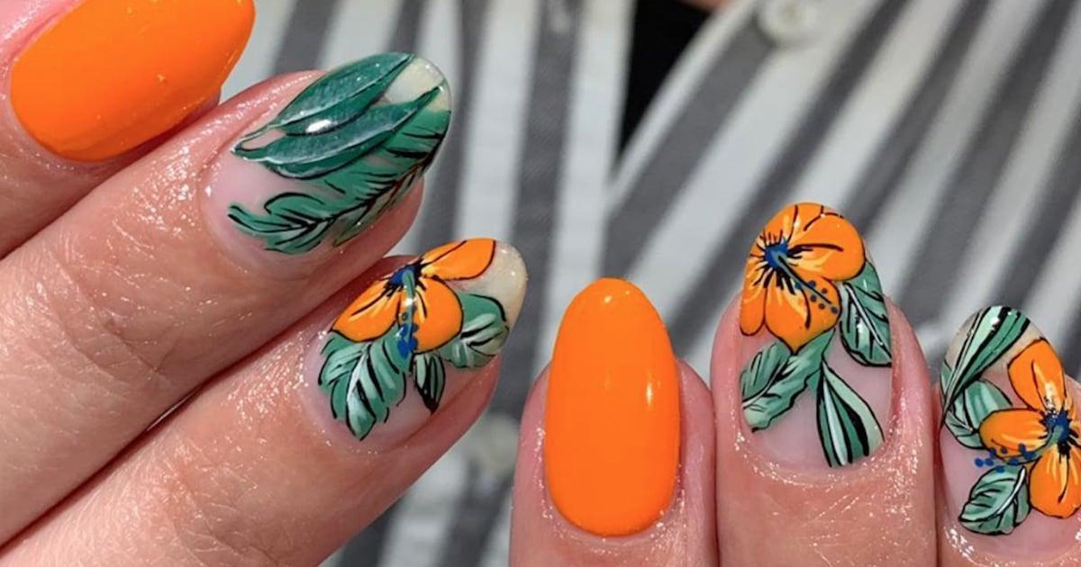 Floral Nail Art Ideas | POPSUGAR Beauty UK