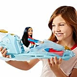 DC Super Hero Girls Wonder Woman Action Doll and Invisible Jet