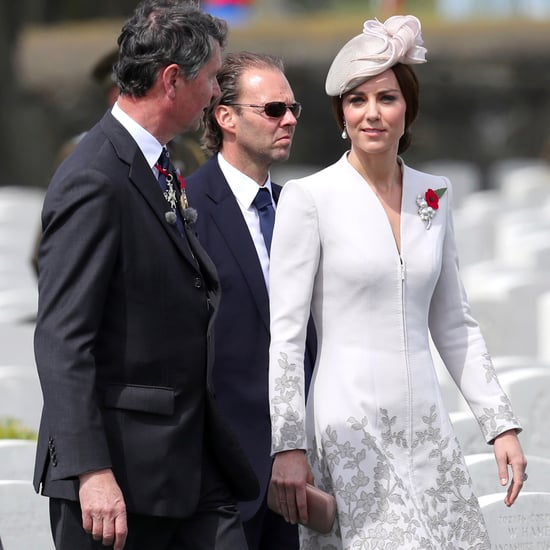 Kate Middleton Catherine Walker Coat Dress