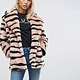 Jakke Mid Length Faux-Fur Coat