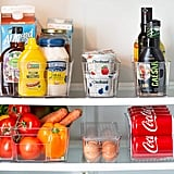 Refrigerator Stackable Storage Organizer Bins